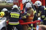 Pokaz ratownictwa technicznego i medycznego w Modliborzycach