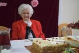 Franciszka Cegła, mieszkanka DPS w Kaliszu, świętowała swoje 100. urodziny FOTO