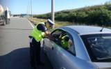 Pruszcz Gdański: Policjanci prowadzili kontrole przy bramkach wyjazdowych na autostradę A1 na węźle Rusocin [ZDJĘCIA]