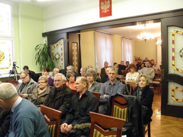 Na spotkanie przyszło kilkudziesięciu radlinian