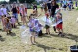 Kościan. Święto baniek mydlanych i kolorów. Dzieci bawiły się znakomicie  [FOTO]