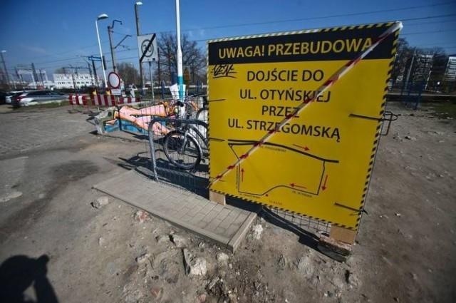 Przebudowa ulicy Otyńskiej we Wrocławiu.