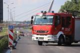 Trasa DK86 w Katowicach zamknięta. Doszło do osunięcia się ziemi? Woda podmyła wiadukt