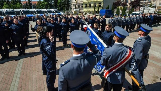 Aktualnie w Wielkopolsce brakuje ponad 500 policjantów