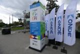 W centrum Torunia stanęło urządzenie do oczyszczania powietrza. Zobacz zdjęcia!
