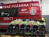 Z dużą pomocą strażacy z Tuchomia kupili sprzęt. Pieniądze pochodziły z 1% podatku
