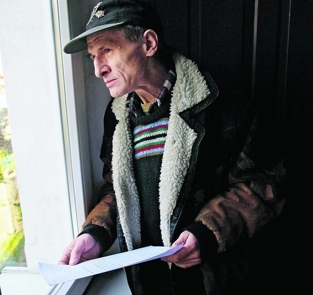 Marek Stańczyk co dwa - trzy dni musi wyjeżdżać z Gdańska po lekarstwo