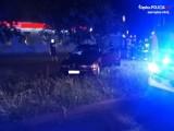 Jastrzębie-Zdrój: Auto uderzyło w drzewo na Piłsudskiego