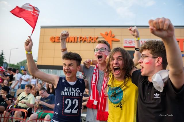 W tarnowskiej Strefie Kibica Euro 2020 do końca meczu Polski ze Szwecją panowały wielkie emocje