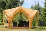 Te piękne, drewniane altany ogrodowe możesz kupić w woj. lubelskim! Zobacz zdjęcia