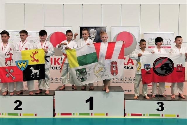 Lubuscy karatecy zdobyli aż 78 medali na mistrzostwach Polski JKA.