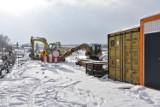Zagórzany. Na drodze gminej koło kościoła rozpoczęła się budowa nowego mostu