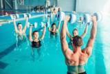 MOSiR w Jarosławiu zaprasza na zajęcia z aqua fitness. Każdy może skorzystać w ramach wejściówki na basen