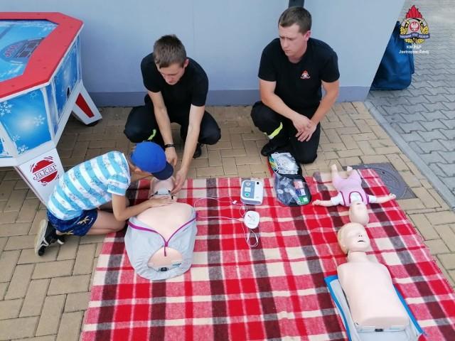 """Prelekcja strażaków była częścią kampanii """"Kręci mnie bezpieczeństwo nad wodą"""""""