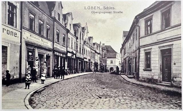 To dzisiejsza ul. Mieszka I. Rok 1923.