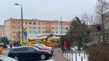 Półtoraroczne dziecko poparzyło się jedzeniem. Do wypadku w Katowicach wezwano LPR