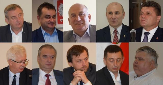 Majątki burmistrza i wójtów gmin powiatu wieluńskiego na podst. oświadczeń majątkowych za 2020 rok
