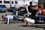 Gaszyn challenge starostwa w Szczecinku na rzecz małego Frania. Trwa akcja serc [zdjęcia]