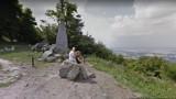 Google Street View na szczycie Ślęży. Zobacz zdjęcia turystów