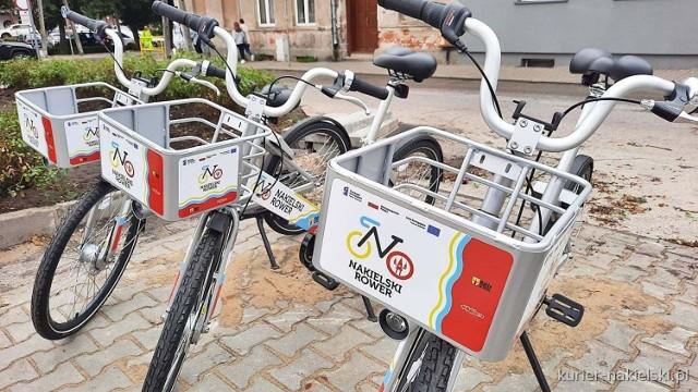 Od poniedziałku 23 sierpnia w Nakle korzystać można z rowerów miejskich