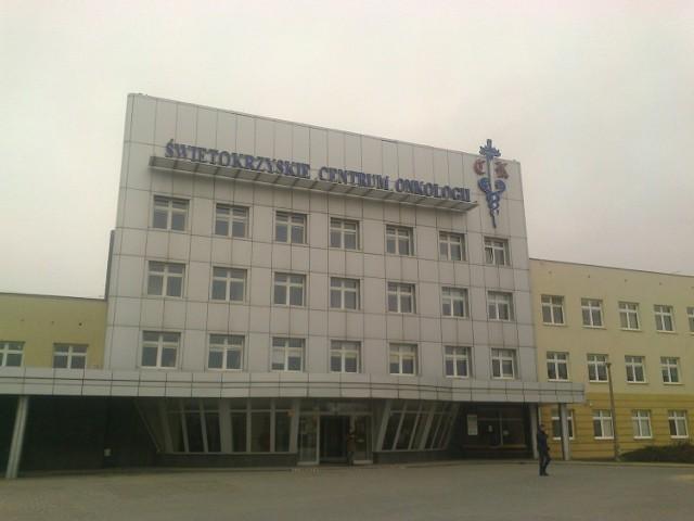 Świętokrzyskie Centrum Onkologii w Kielcach.