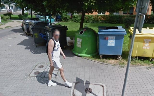 Kamery Google w bocznych uliczkach Wałbrzycha