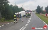 Muchówka: kierowca busa stracił panowanie nad pojazdem i wypadł z drogi [ZDJĘCIA]