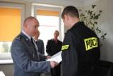 Ślubowanie policjantów w Poddębicach