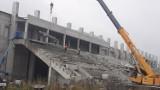 Budowa stadionu dla Radomiaka przy ulicy Struga 63. Trwa demontaż trybuny południowej (ZOBACZ ZDJĘCIA)