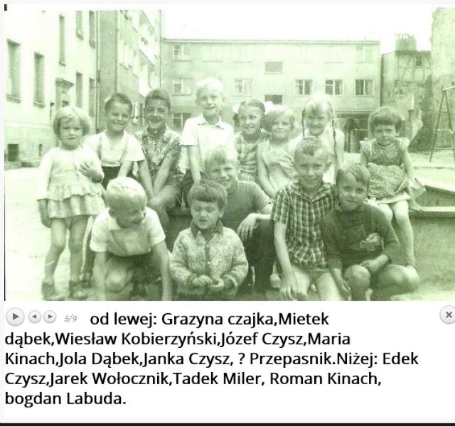 Podwórka.Lębork, Orzeszkowej 11, 1961-1970  Twórca: Paweł Kłosowski  Ofiarodawca zdjęć:Edward Czysz