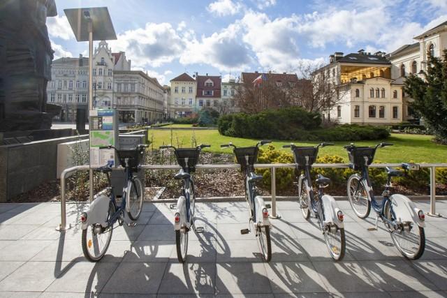 Umowa z BikeU na rowery miejskie w Bydgoszczy obowiązuje tylko do końca października.