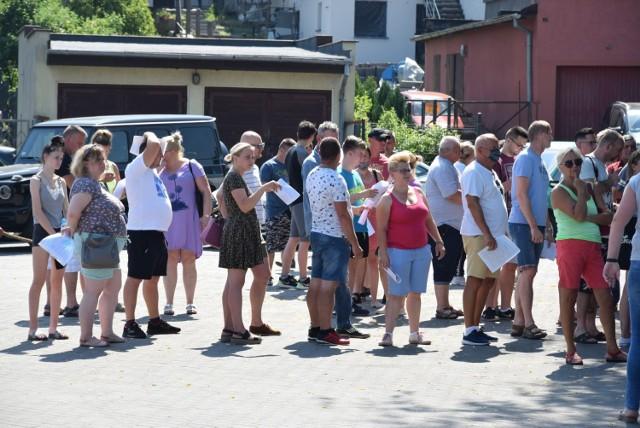 """Akcja """"Zaszczep się na weekend"""" w Sępólnie Krajeńskim spotkała się z dużym odzewem"""