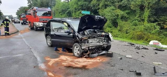 W wyniku wypadku w Radgoszczy jedna osoba została poszkodowana