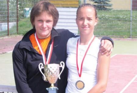 15-letnie Sandra Zaniewska (z lewej) i Paula Kania zostały w tym roku wicemistrzyniami Polski seniorek.