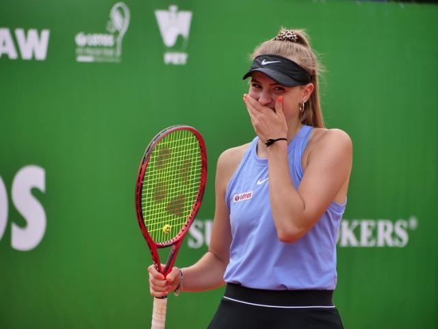 Martyna Kubka, tenisistka GKT Nafta Zielona Góra, świetnie rozpoczęła sezon.