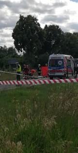 Wypadek z udziałem motocyklisty w Radoni. Motocyklista nie żyje
