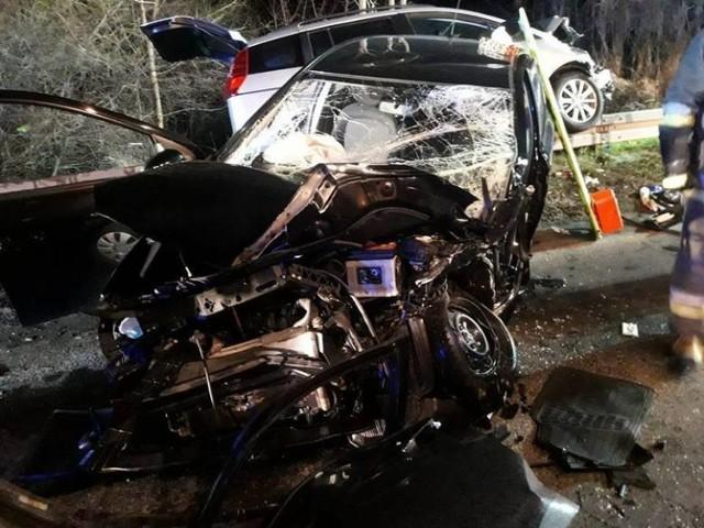W wypadku w Koziegłowach zostały ranne dwie osoby.