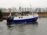 Sobotni protest rybaków i przetwórców ryb w Kołobrzegu - fotoreportaż