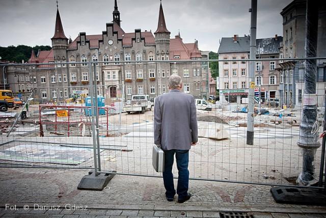 Przebudowa pl. Magistrackiego w Wałbrzychu zakończy się w pierwszej połowie sierpnia