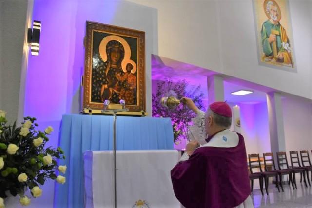 Wierni powitali obraz Matki Bożej w kościele pw. Mądrości Bożej