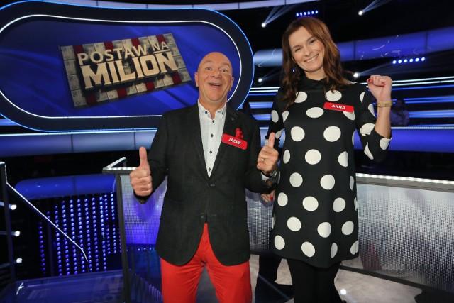"""Jacek i Anna w """"Postaw na milion"""""""