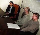 Spotkanie ze studentami w sprawie Lapidarium we Wronkach