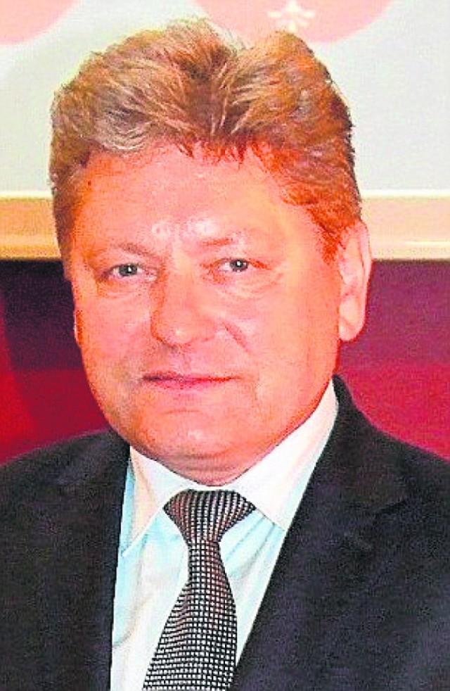 Andrzej Saternus, burmistrz Chełmka (pow. oświęcimski)