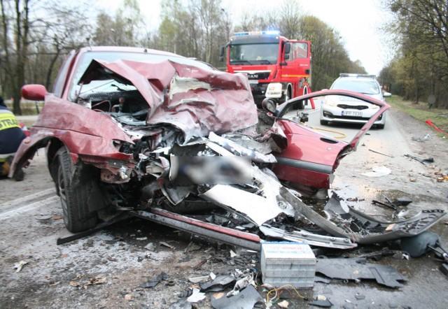 Groźny wypadek na DW 908 w Miasteczku Śląskim