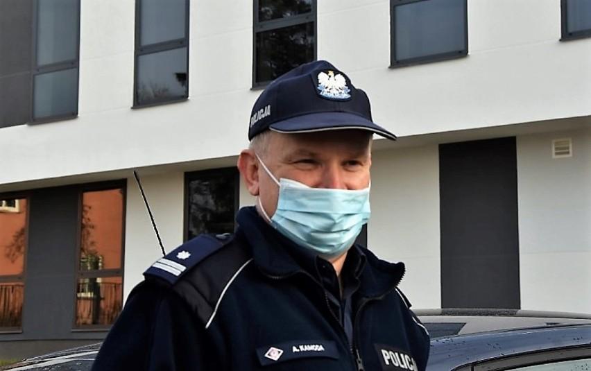 Podinsp. Andrzej Kamoda, komendant powiatowy policji w...