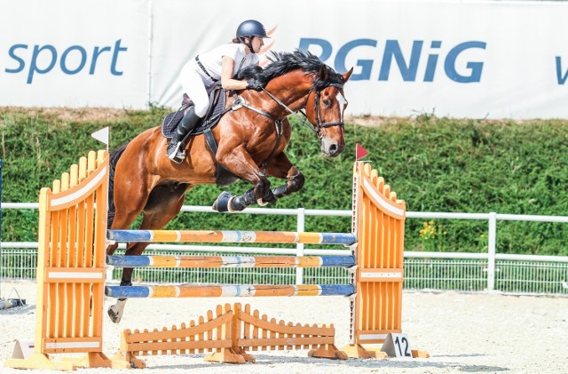 Martyna Michalska z Gorzowa ma dwa konie. Środki ostrożności związane z wirusem Eva komentuje krótko: - Bezpieczeństwo koni jest najważniejsze.