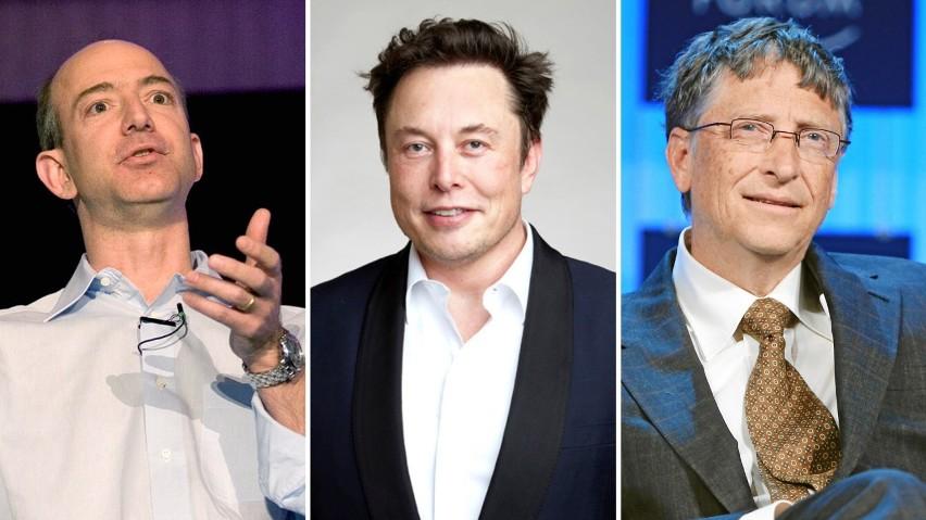 Najbogatsi miliarderzy. Ich fortuny są warte 13,1 bln dolarów. Lista najbogatszych ludzi świata 2021. W zestawieniu Polacy