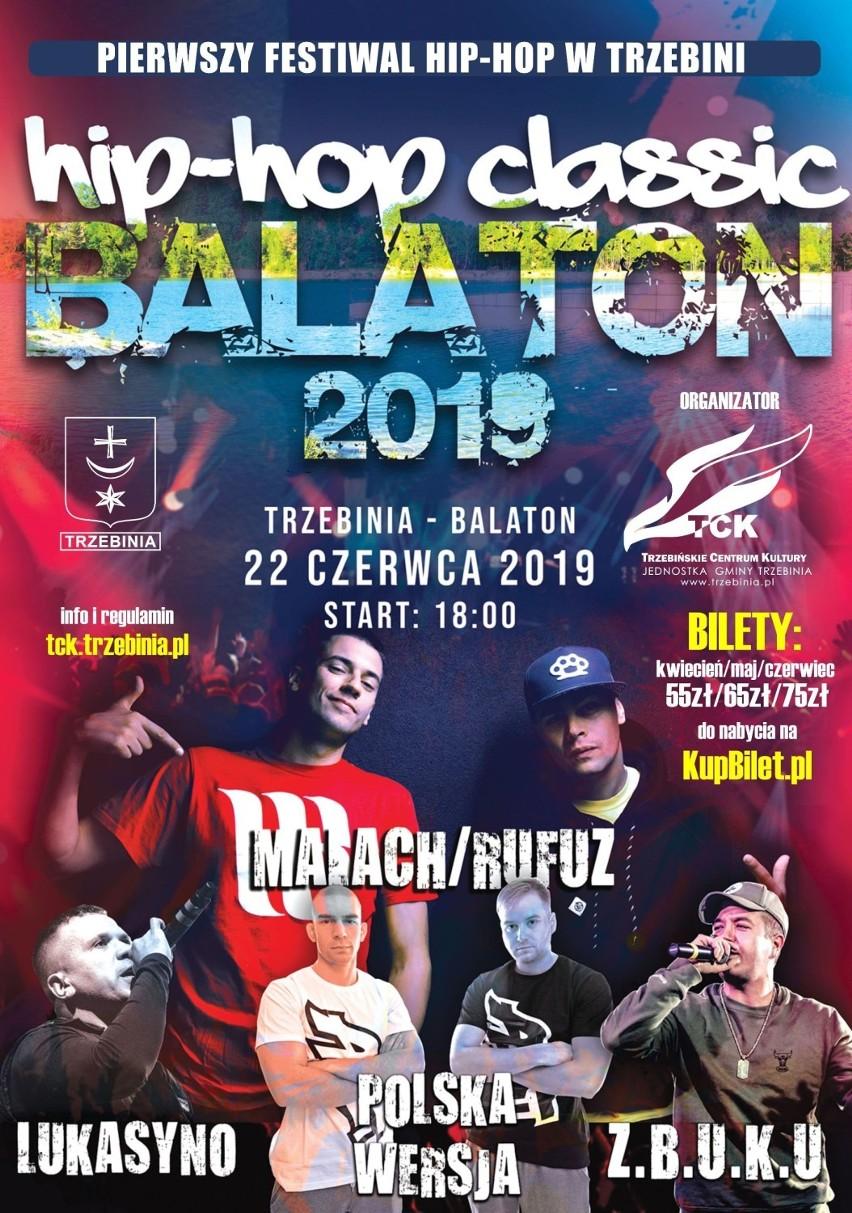 Trzebinia Wielki Festiwal Hip Hopowy Nad Balatonem Ruszyła