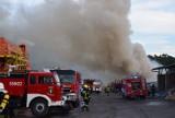 Pożar na składowisku odpadów w Rudzie koło Wielunia AKTUALIZACJA