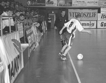Krzysztof Jasiński strzelił kolejną bramkę dla Clearexu. Fot: Małgorzata Szreter